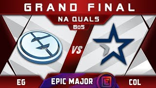 EG vs coL Grand Final NA EPICENTER Major 2019 Highlights Dota 2