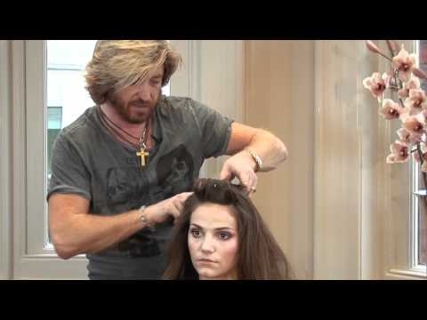 Hair Tutorial - Nicky Clarke Bardot half-up half-down Hairdo
