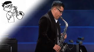 IT IS WELL WITH MY SOUL | Saxophone Instrumental Music for Prayer and Worship | Uriel Vega