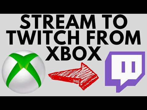 How to Stream to Twitch from Xbox One - No Capture Card - 2021