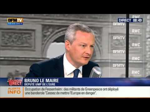 Bourdin Direct: Bruno Le Maire - 1803