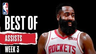NBA's Best State Farm Assists from Week 3 | 2019-20 NBA Season