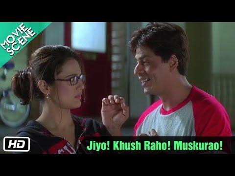 Jiyo! Khush Raho! Muskurao! kya pata.. Kal Ho Naa Ho ! - Scene...