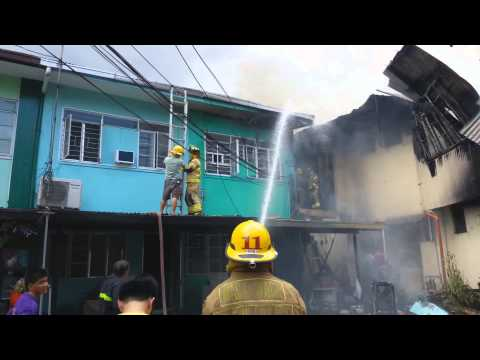 Residential Fire in Mandaluyong City, Philippines