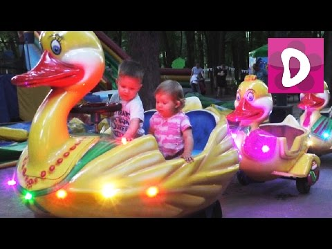 ✿ VLOG Диана в Игровой  Indoor Playground Family Fun for Kids Indoor Play Area Playroom with Balls