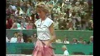Evert Navratilova French Open 1986