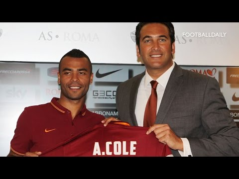 AS Roma unveil new signing Ashley Cole