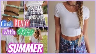 Get Ready With Me! ♥ Summer 2014 ♥
