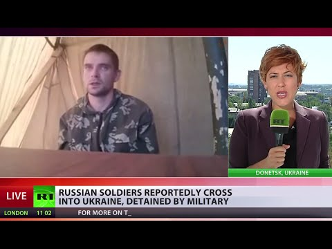 Russian soldiers detained in Ukraine, Moscow claims 'lost at night'