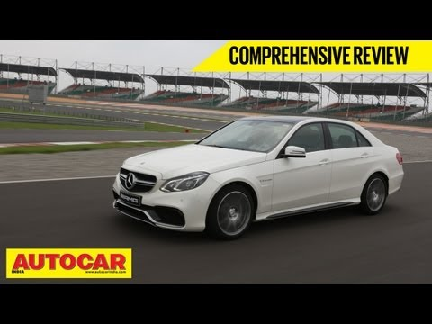Mercedes-Benz E63 AMG At Buddh Circuit | Comprehensive Review | Autocar India