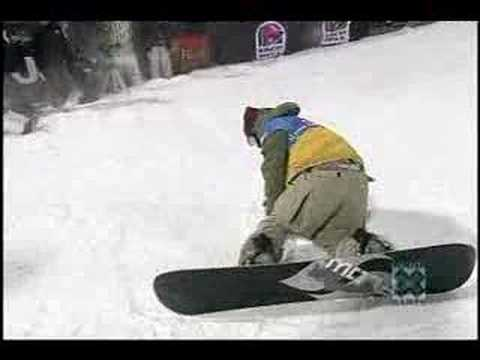 Antti Autti at the X Games 05 in Pipe