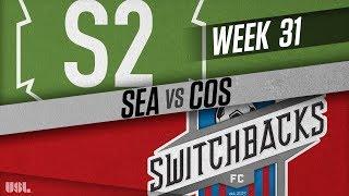 Seattle Sounders FC 2 vs Colorado Springs Switchbacks FC: October 10, 2018