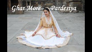 Ghar More Pardesiya    KALANK    SUKRUTI AIRI    Classical Dance(Kathak)    Dance video