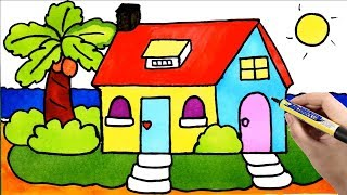 Kids Painting House   Draw and Color My Room, Tree, Window