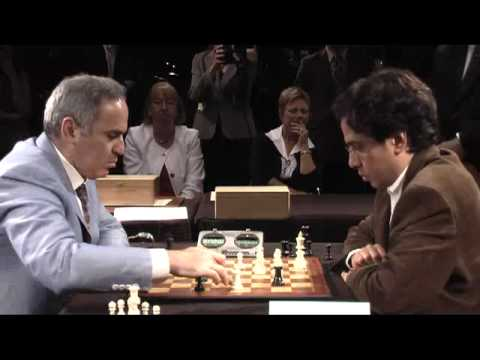 GM Kasparov vs FM Ghannoum, April 2011