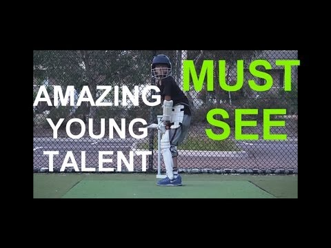 Inspirational Cricket Video Young Cricketer Aaditya Batting video