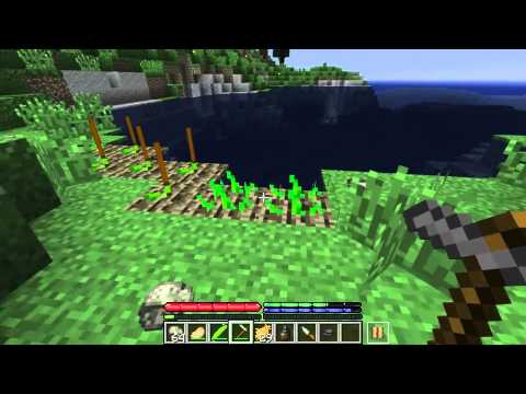 Minecraft TerraFirmaCraft #3: Farming | Gold Panning | Metallurgy