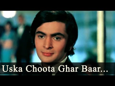 Bobby - Ae Fhansa Uska Choota Ghar Baar Sansar - Lata Mangeshkar