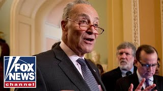 Schumer, Senate Dems react to the first day of impeachment in the Senate