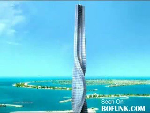 Worlds First Rotating Skyscraper In Dubai