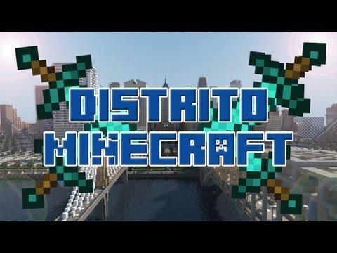 Servidor Minecraft 1.6.4 no premium 24/7 sin Hamachi -Distrito Minecraft-