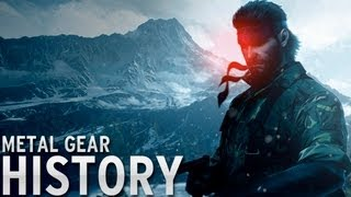 History of - Metal Gear (1987-2013)