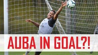🤔 Aubameyang in goal?! Plus Mkhitaryan's free-kick madness | Behind the scenes
