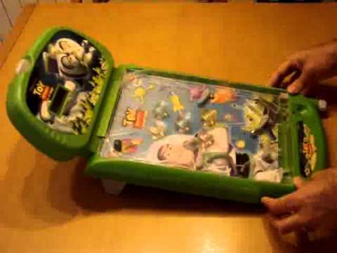 Super pinball de mesa toy story de imc toys youtube for Pinball de mesa