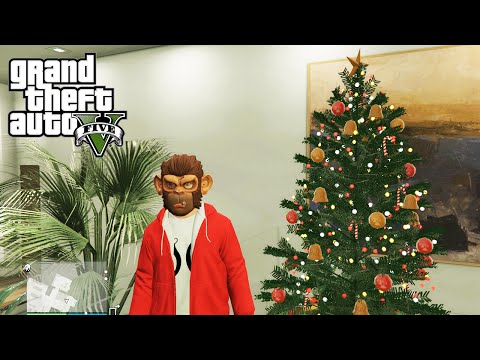 GTA 5 Online Festive Surprise DLC New Weapons Proximity Mines. Homing Launcher and New Vehicles