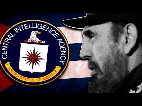 Los 10 MÁS BIZARROS atentados de la CIA para MATAR A FIDEL CASTRO - Documental