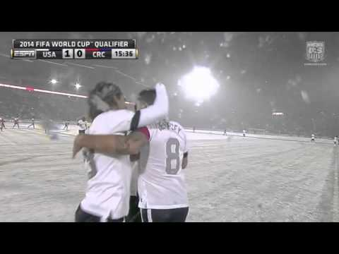 MNT vs. Costa Rica: Clint Dempsey Goal - March 22, 2013