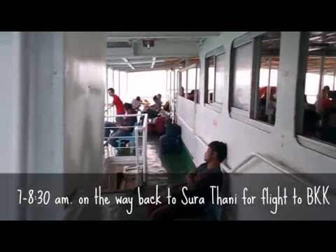 Koh Samui Resotel & AirAsia flight back to BKK (9.26-27.2013)