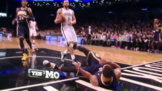 Paul Pierce Gets Ejected for a Hard Foul   Pacers vs Nets   December 23  2013   NBA 2013 2014 Season