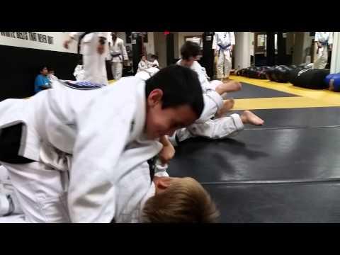 Kids BJJ Training 1