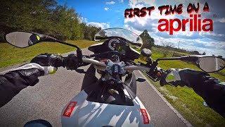 Aprilia Tuono V4 Test Ride + Wheelies