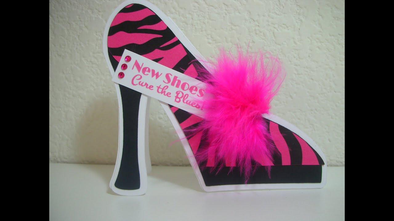 Happy Birthday High Heels Shoes