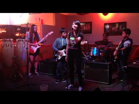 Allegro School of Music Rock Band Class performs Dani California in Tucson, AZ