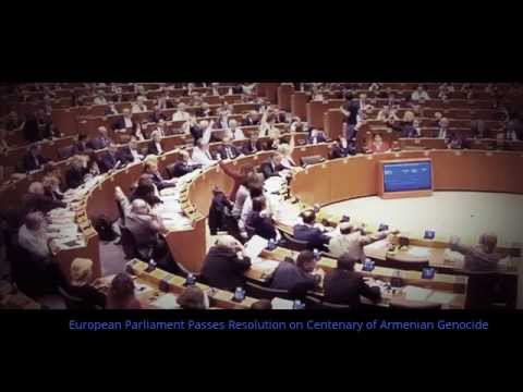 European Parliament Passes Resolution on Centenary of Armenian Genocide
