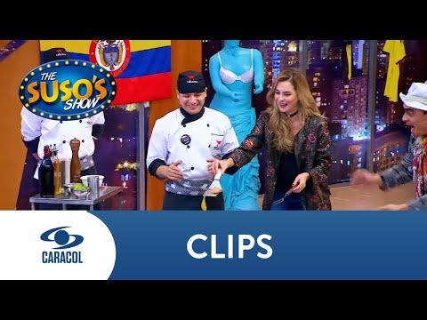 ¡Qué técnica! Así respondió Catalina Gómez al reto de los huevos en The Suso's Show