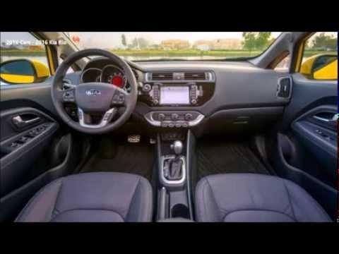 2016 Cars - 2016 Kia Rio Interior Exterior