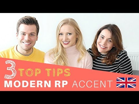 MODERN RP ACCENT feat. English with Lucy // TUTORIAL