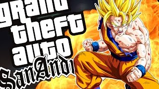 DRAGON BALL MOD: INCRÍVEL - GTA SAN ANDREAS MOD