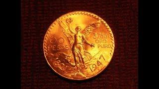 50 pesos Gold Coin - Moneda de Oro