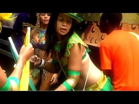 Jamaican Leprechaun Shaking Her Booty at Notting Hill Carnival thumbnail