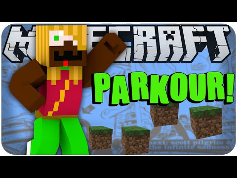 MINECRAFT: Contra o Tempo #02 DESAFIO DO PARKOUR!