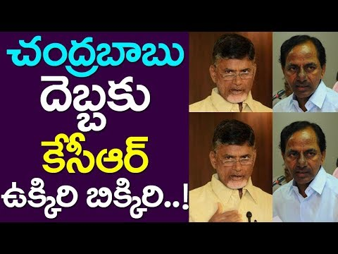 CM Chandrababu Master Stroke On CM KCR | Telangana| Andhra Pradesh| Take One Media| TDP| TRS| Telugu