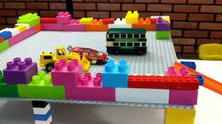 Cars Slide Play with Small #Cars Kids Video
