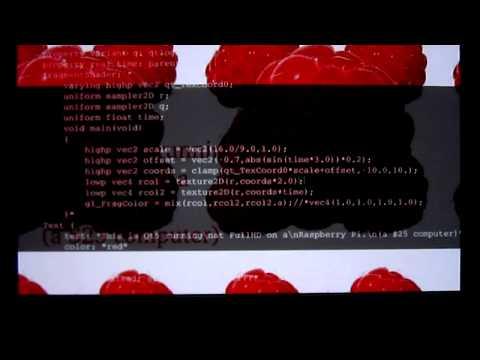 Raspberry Pi, Qt 5, QML, Shaders