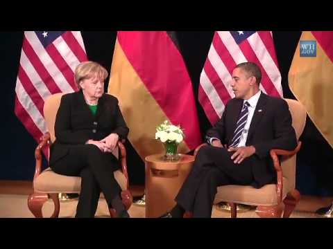 President Obama and Chancellor Merkel at G-20