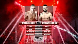 MIX FIGHT - ADRIAN BORRULL vs ADRIANO RODRIGO